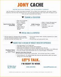 Free Modern Resume Templates Of Free Modern Resume Templates