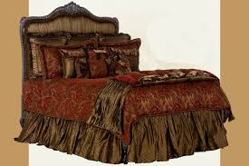 red brown and gold comforter sets cream burgandy bedding new pem america palazzo 1