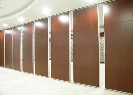 training room folding partition aluminum sliding glass doors hotel room divider