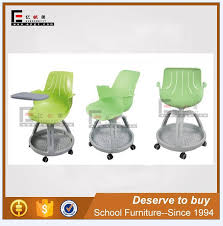 Modern School Furniture Gorgeous Modern College Furniture Students Swivel Plastic School Chair With