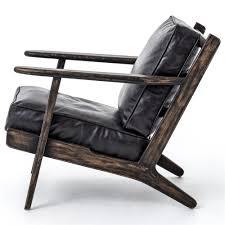 wood and leather chair. Wood And Leather Chair