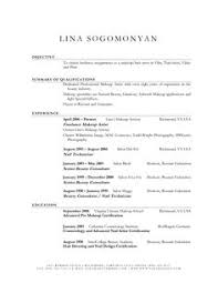 freelance makeup artist resume for a job resume of your resume 8