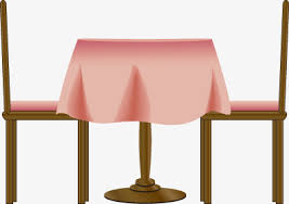 restaurant table clipart. Fine Table The Restaurant Chairs Table Chair Tablecloth PNG Image And Clipart With Restaurant Table