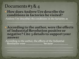 aim how do we write a dbq essay on the industrial revolution positive or negative effects of the industrial revolution 6 documents