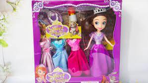 Búp bê đồ chơi cho bé gái dễ thương cho bé trên 3 tuổi