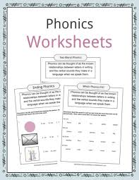 Phonics worksheets and online activities. Phonics Table Worksheets Examples Definition For Kids