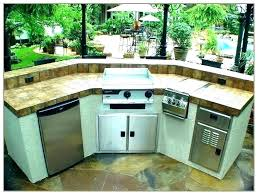built in griddle for outdoor kitchen built in griddle outdoor kitchen grill and combo blaze island