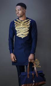 Blue African Dress Designs Latest Senator Designs For Naija Men African Dresses Men