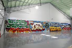 Custom Car Garage Mancave Graffiti Artwork We Painted This For A