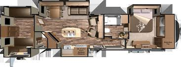 2 Bedroom Trailer Travel Floor Plans Ideas With Awesome Pictures Two
