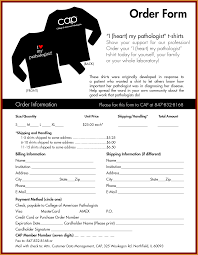 T Shirt Order Forms T Shirt Order Form Template Good Illustration Word Scholarschair 6