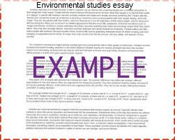 environmental studies essay research paper academic service environmental studies essay