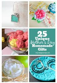 25 unique mothers day homemade gifts