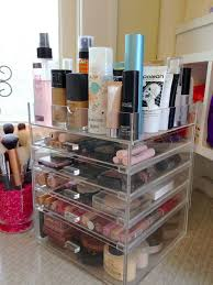 makeup collection organizer clear acrylic w drawers i need this