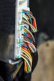 wiring harness stock photos images royalty wiring harness wiring harness close up old and dirty car automotive wiring multi color wire cable
