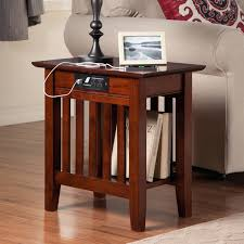 chair side table with cup holder leick chairside lamp