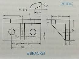question book technical drawing with engineering graphics 14th edition please provide the solution for e