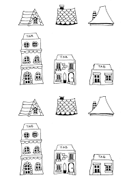 Free Printable House Templates Doodles And Type New Home Cards
