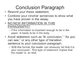 Example Of A Good Conclusion For An Essay Conclusions Examples For Essays Self Reflection Essay Conclusion