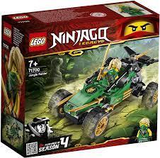 Lego 71700 NINJAGO Legacy Lloyds Dschungelräuber Auto mit Minifigur Lloyd,  Turnier der Elemente Bauset: Amazon.de: Spielzeug