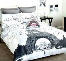 lovely eiffel tower bedspread tower comforter set double bed within design 0 living colors tower comforter
