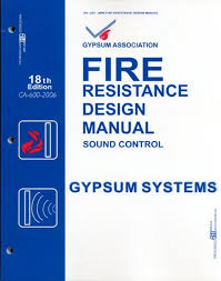 Gypsum Association Fire Resistance Design Manual Ga 600 Fire Resistance Design Manual