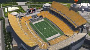 Steeler Game Seating Chart Pittsburgh Steelers Virtual Venue By Iomedia