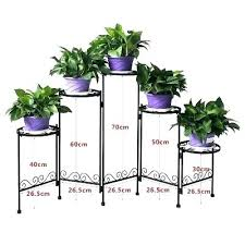 metal plant shelf outdoor stands 5 tier garden stand black decor flower pot holder planter uk metal plant shelf description outdoor
