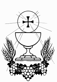 First Holy Communion Coloring Pages Coloring