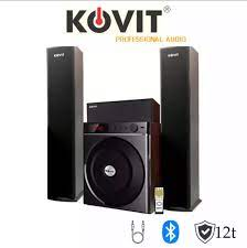 LOA VI TÍNH 3.1 KOVIT KS 839 - Nghe nhạc cực phê, công suất lớn, bass mạnh,  treble hay, có kết nối bluetooth, khiển từ xa - Hàng chính hãng