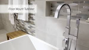 how to install the american standard freestanding tub faucet