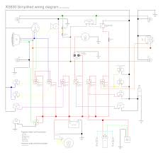 in motion xs650 the world s most complicated simplified wiring my system contains seven fused relays that are operated by closing an earthed circuit via the switch assemblies the only switch that is passing any voltage