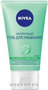 <b>Гель</b> для <b>умывания матирующий</b> для жирной кожи - <b>Nivea</b> Aqua ...