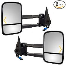 Amazon.com: Driver and Passenger Power Tow Side Mirrors Heated ...