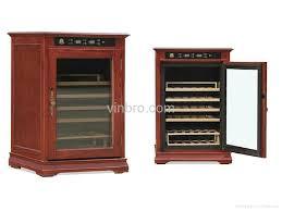 VinBRO Wooden Wine Cellar Cabinet Bar Furniture Electric Home