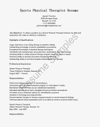 physical therapy resume me physical therapy resume