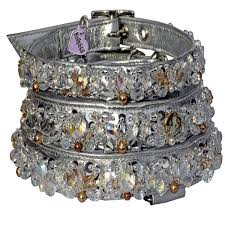 crystal palace swarovski ultimate bling dog collar holly lil collars handmade in britain leather dog