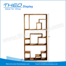 Floor Standing Display Units New Artistic Wooden Floor Display StandFreestanding Display UnitFree