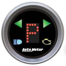 AutoMeter 3359 Sport-Comp Digital PRNDL <b>Gear Position Indicator</b>