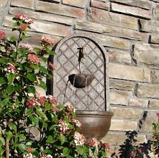 garden fountain outdoor fountains orange county wall simple old flowers brick interesting outdoor fountains