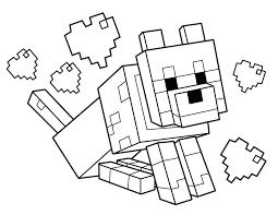 Free Minecraft Coloring Pages Special Offer Coloring Page