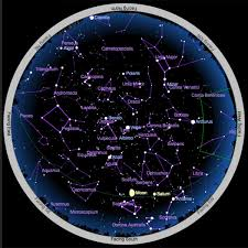 Astronomical Chart Of Stars And Planets Interactive Sky Chart Sky Telescope