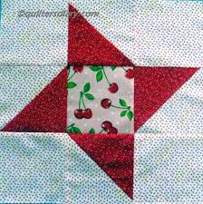 11 best Annie's Quilted Mysteries Mystery sampler quilt images on ... & Three-color variation on the Friendship Star quilt block. More info at http: Adamdwight.com