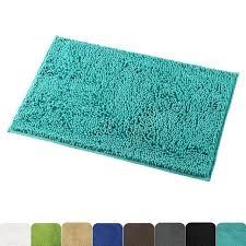 mayshine non slip bathroom rug shower mat machine washable bath mats with