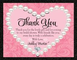sle thank you card for baby shower gift gift ideas