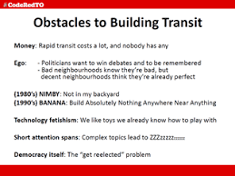 presentation on activism and transit issues at the urban geography how to help