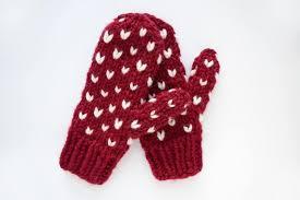 Mitten Pattern Custom Knitting Pattern Fair Isle Mitten Pattern Mitten Pattern Etsy