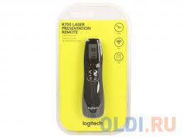 <b>Презентер Logitech Professional Presenter</b> R700 Black USB + Radio
