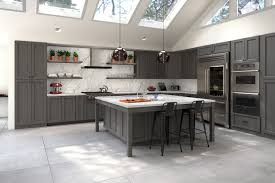 Providence Slate Grey Pre Assembled Kitchen Cabinets Willow Lane