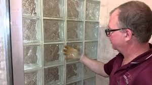 cleaning grout around glass tiles